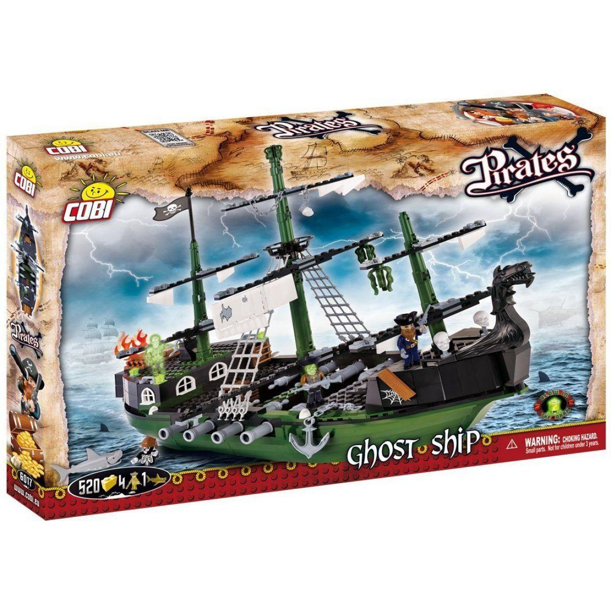 Cobi Piráti 6017 Loď duchů