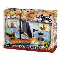 Cobi Piráti 6019 Jackova pirátská loď