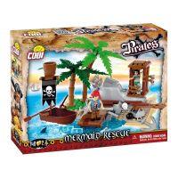 Cobi Piráti 6023 Záchrana mořské panny