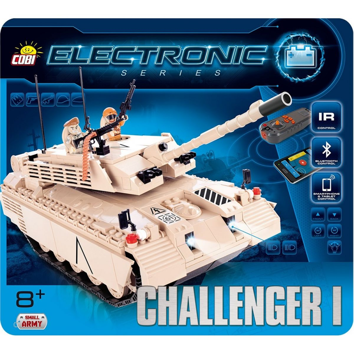 Cobi Electronic 21905 Tank Challenger I