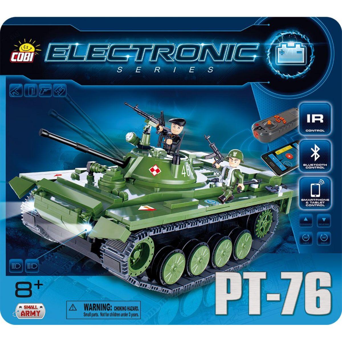 Cobi Electronic 21906 Tank PT-76