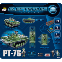 Cobi Electronic 21906 Tank PT-76 2