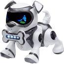 Cobi Teksta Robotické štěně ovládané hlasem - Bílo-černá 2