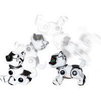 Cobi Teksta Robotické štěně ovládané hlasem - Bílo-černá 4