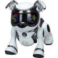 Cobi Teksta Robotické štěně ovládané hlasem - Bílo-černá 5