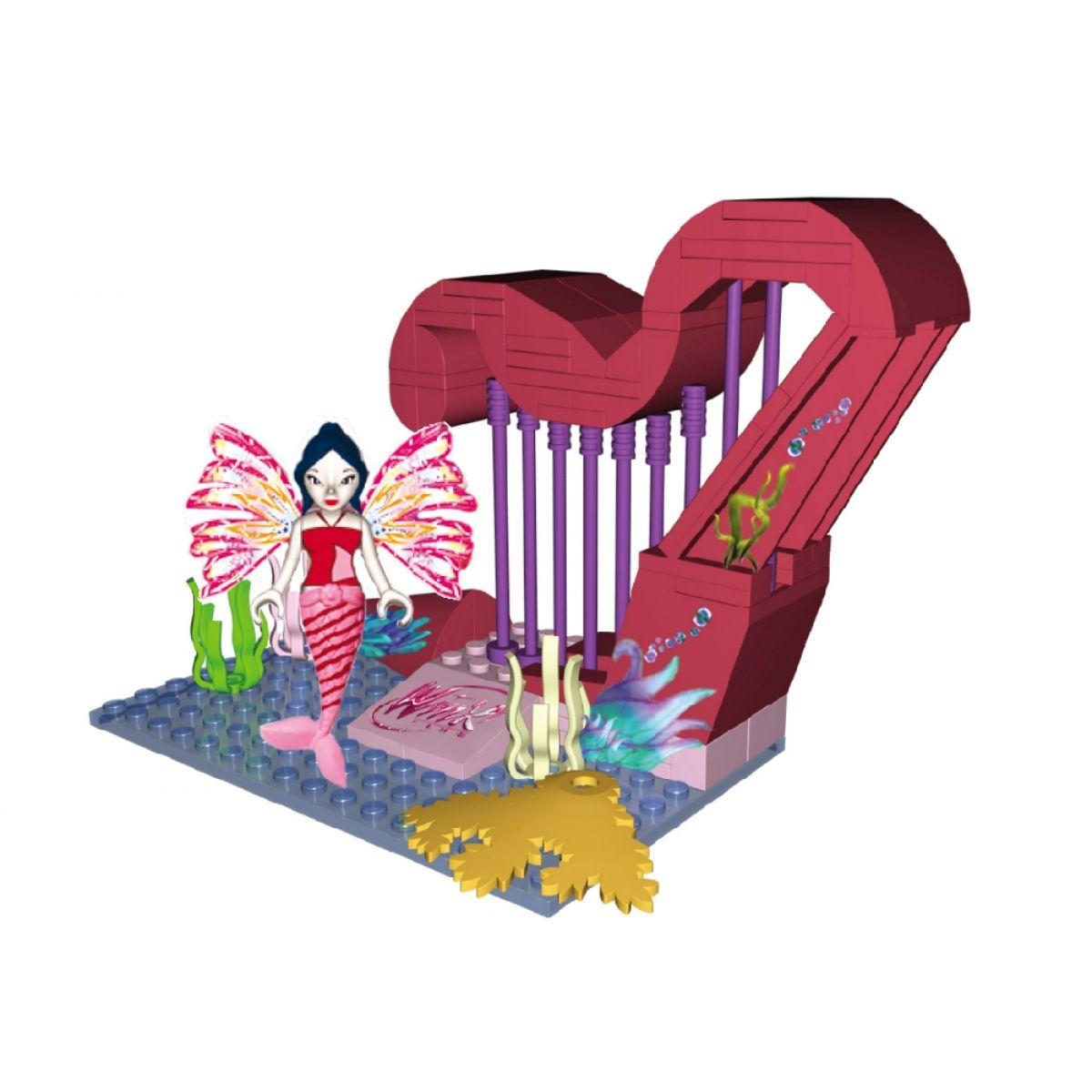 COBI 25084 - Winx - Musa a kouzelná harfa