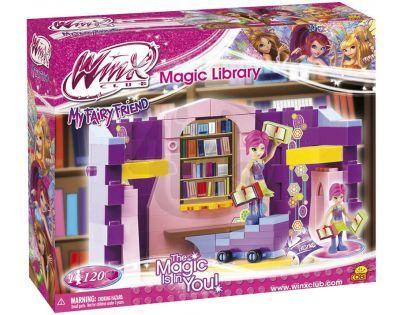 COBI 25121 - Winx - Kouzelná knihovna