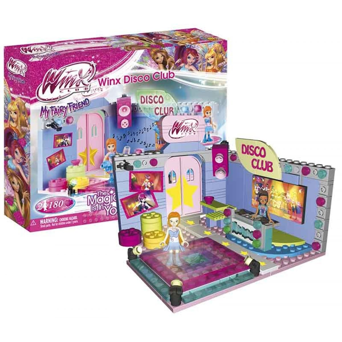 Cobi 25181 - Winx - Disco Club