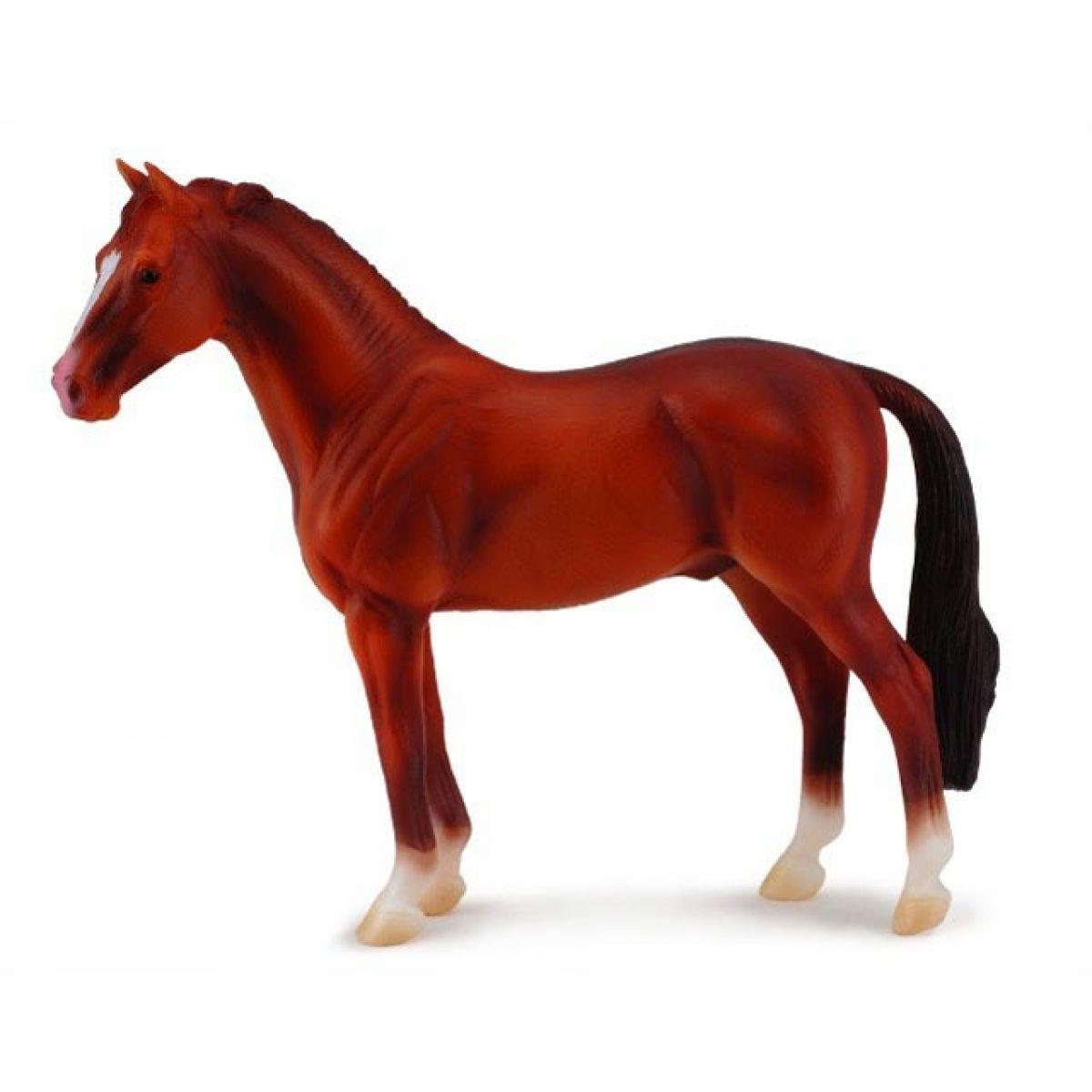 Hannoverský hřebec kaštanový 13cm - Figurky Collecta