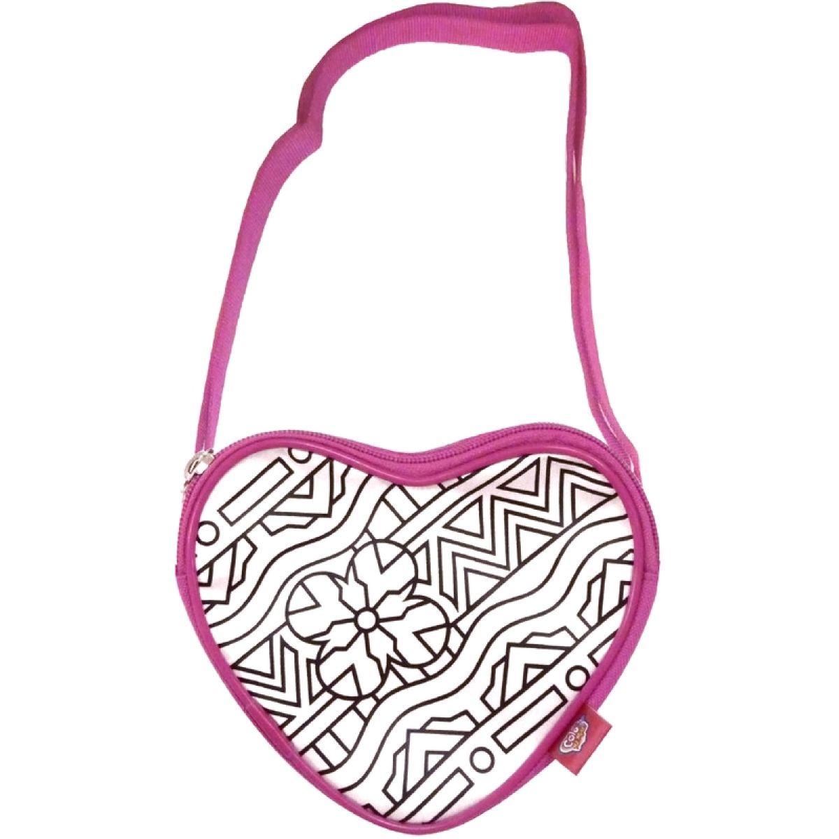 Color Me Mine Color mini kabelka měnící barvy - Heart bag