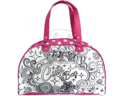 Color Me Mine Víkendová kabelka s třpytkami
