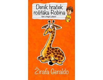 Columbus Deník hraček rošťáka Robina - Žirafa Geraldo