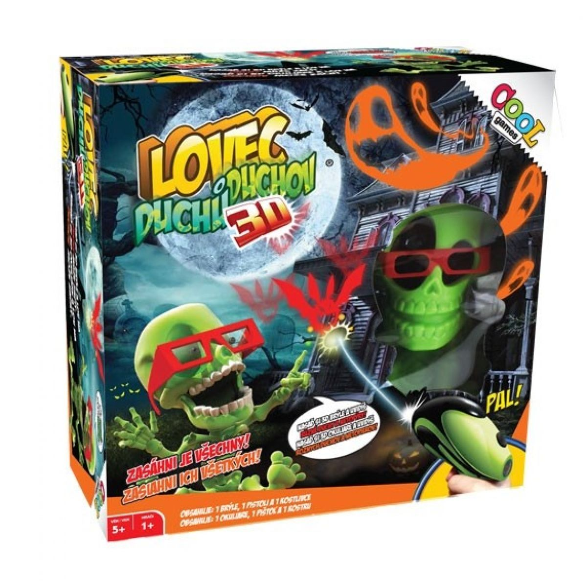 Cool Games Lovec Duchů 3D