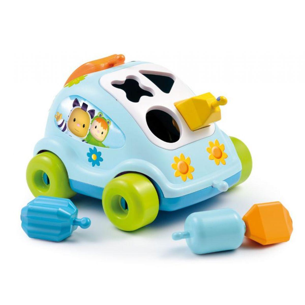 Cotoons autíčko vkládačka - Modrá