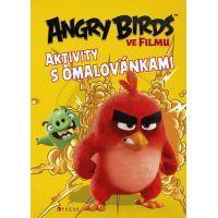 Cprees Angry Birds ve filmu - Aktivity s omalovánkami