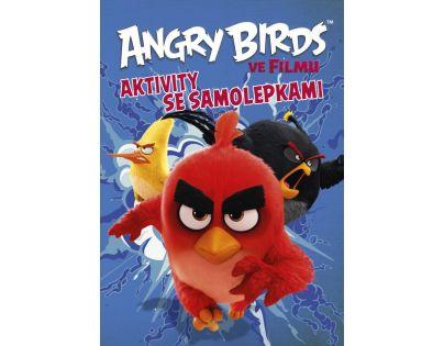 Cprees Angry Birds ve filmu - Aktivity se samolepkami