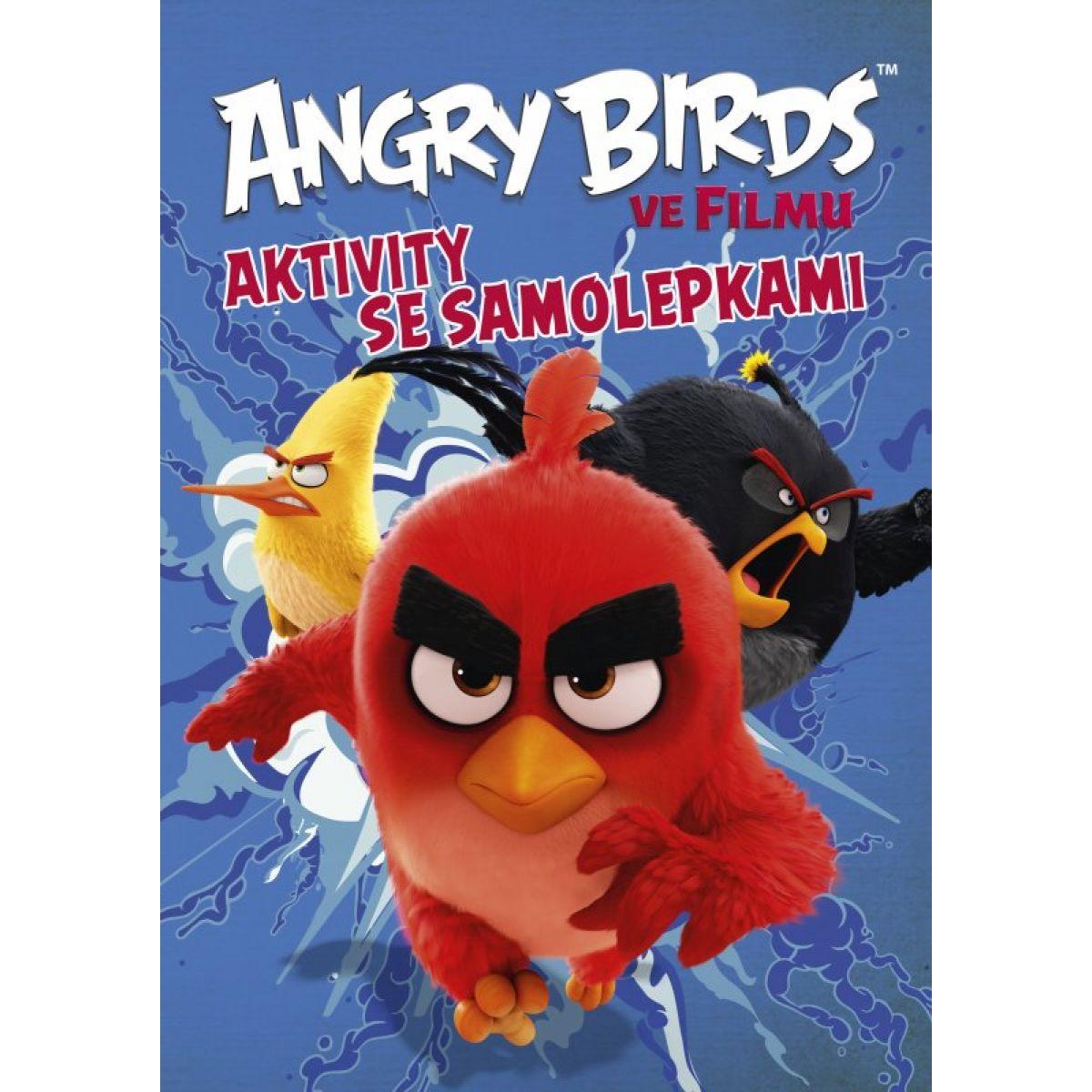 Cprees Angry Birds ve filmu  Aktivity se samolepkami od 6 let