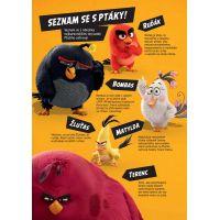 Cprees Angry Birds ve filmu  Aktivity se samolepkami od 6 let 2