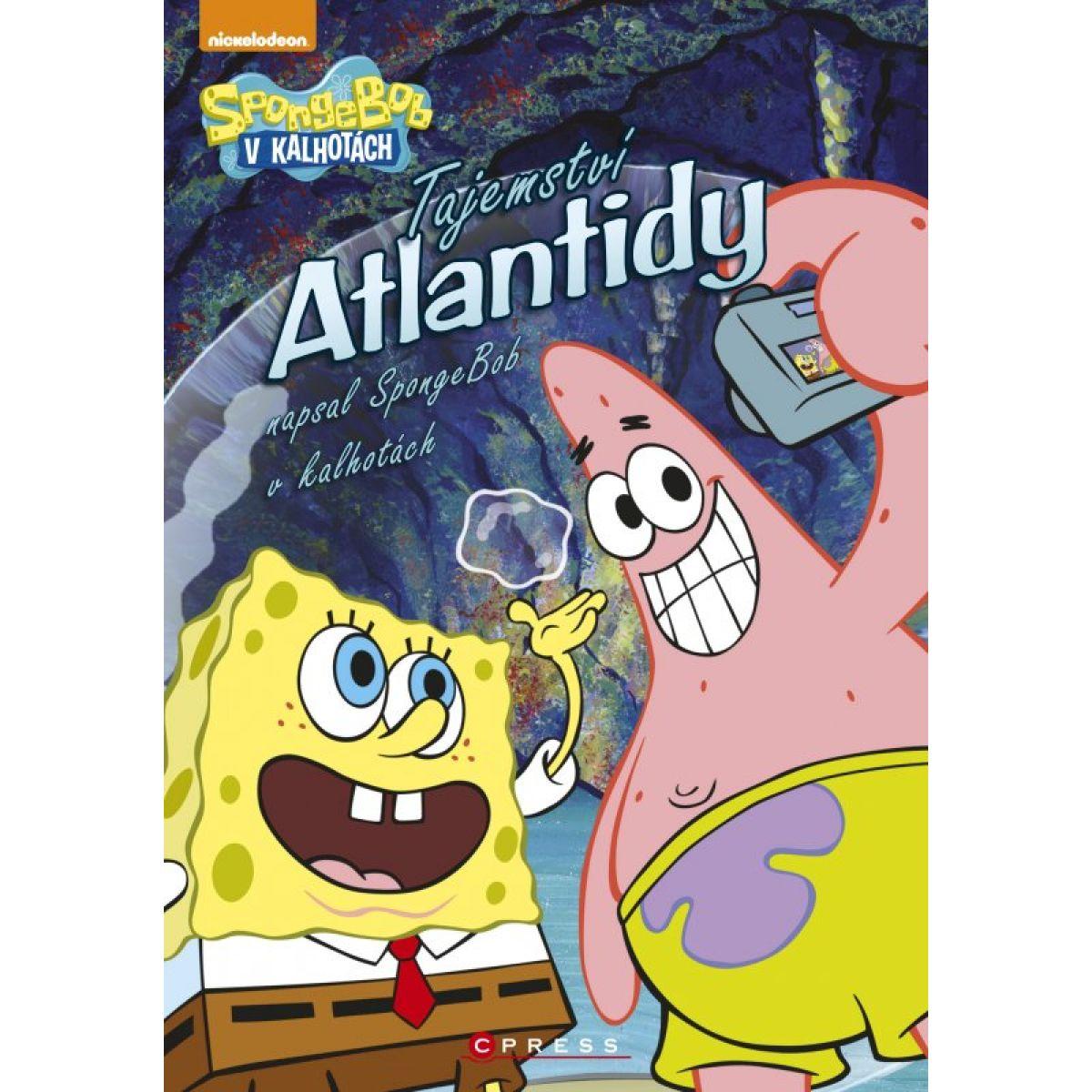 Cpress SpongeBob v kalhotách Tajemství Atlantidy