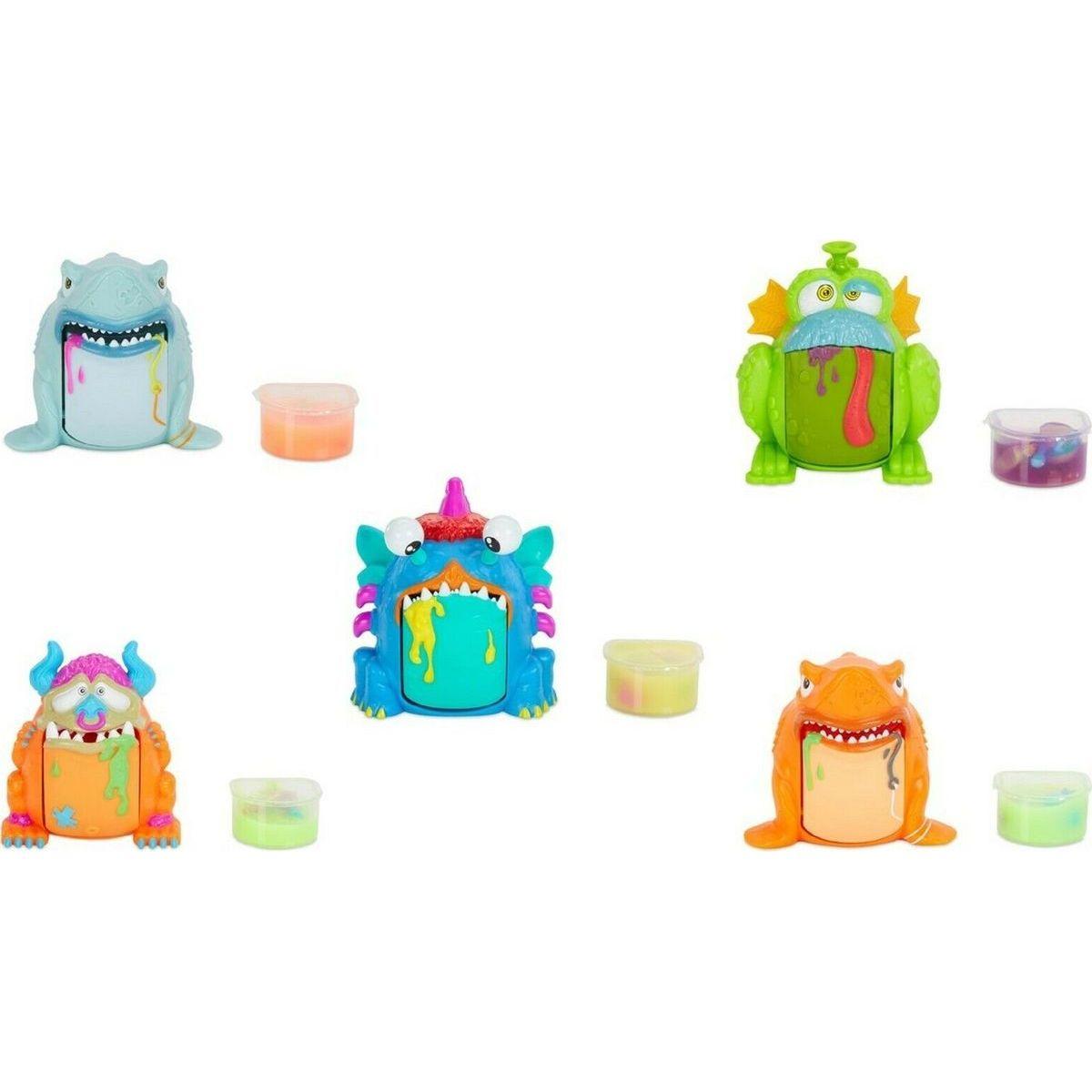 Crate Creatures Příšerka Barf Buddies - zelený Gulp