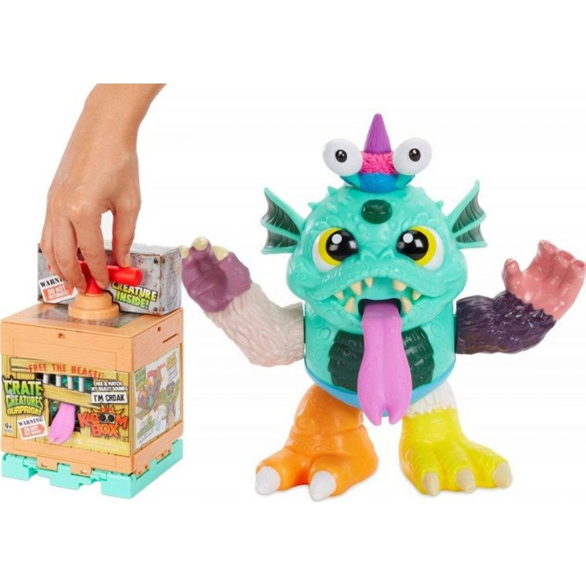 Crate Creatures Surprise KaBoom Box Croak