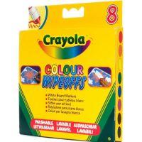 Crayola Barevné fixy na bílou tabuli