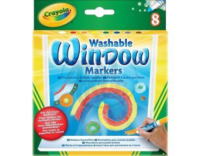Crayola Fixy na okna 8 ks