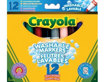 Crayola Fixy super vypratelné 12ks