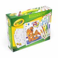 Crayola Kreativní sada samolepek s omalovánkami
