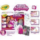 Crayola Marker Airbrush kreslící studio růžové 2