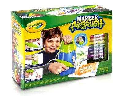 Crayola Marker Airbrush kreslící studio modré