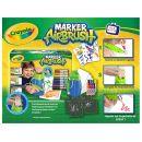 Crayola Marker Airbrush kreslící studio modré 2