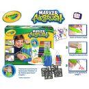 Crayola Marker Airbrush kreslící studio modré 3