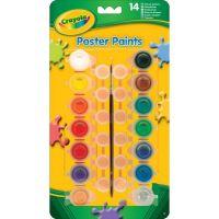 Crayola Vodové barvy s nádobkami na míchání 14 ks