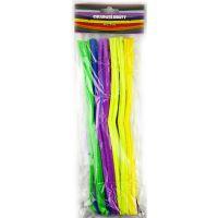 Creatoys Chlupaté dráty 50 ks mix barev