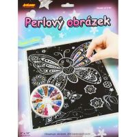 Creatoys Perlový obrázek Motýl
