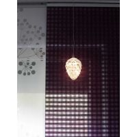 Marimex Crystal Závěsná Bílá Šiška 14 cm 4