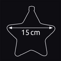 Marimex Crystal Závěsná Hvězda 15 cm 3