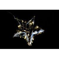 Marimex Crystal Závěsná Hvězda 15 cm 6