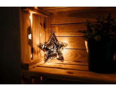 Marimex Crystal Závěsná Hvězda 15 cm