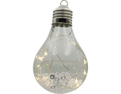 Crystal Závěsná Žárovka 15 cm