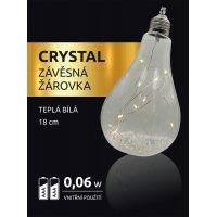 Marimex Crystal Závěsná Žárovka 18 cm 2