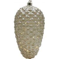 Marimex Crystal Závěsná Zlatá Šiška 14 cm