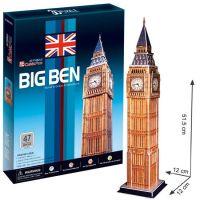 CubicFun 17C094 - Puzzle 3D Big Ben - 47 dílků