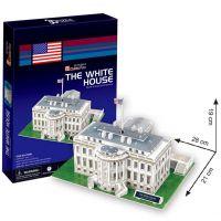 CubicFun 3D Puzzle Bílý dům 64 dílků