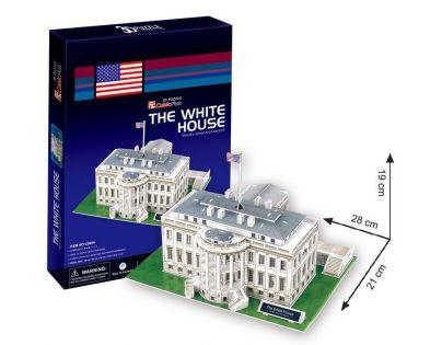 CubicFun 17C060 - 3D Puzzle Bílý dům, 64 dílků