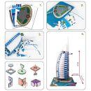 CubicFun 3D Puzzle Burj Al Arab 101 dílků 3