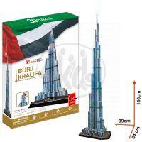 CubicFun 17C133 - 3D Puzzle Burj Khalifa, 136 dílků
