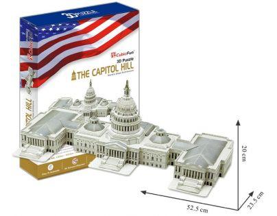 CubicFun Puzzle 3D Capitol Hill 132 dílků