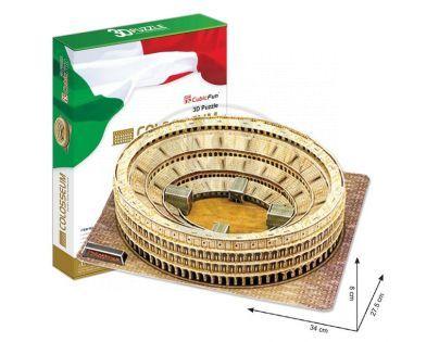 CubicFun 17C055 - 3D Puzzle Colosseum, 84 dílků